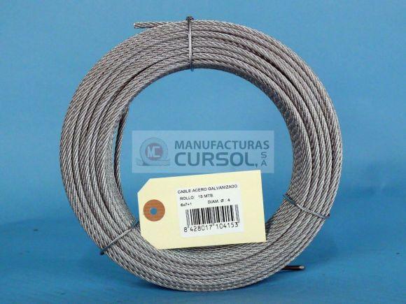 Cables de Acero Galvanizado